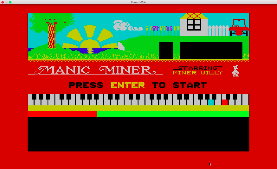 Manic Miner 4 – Abandoned Uranium Workings