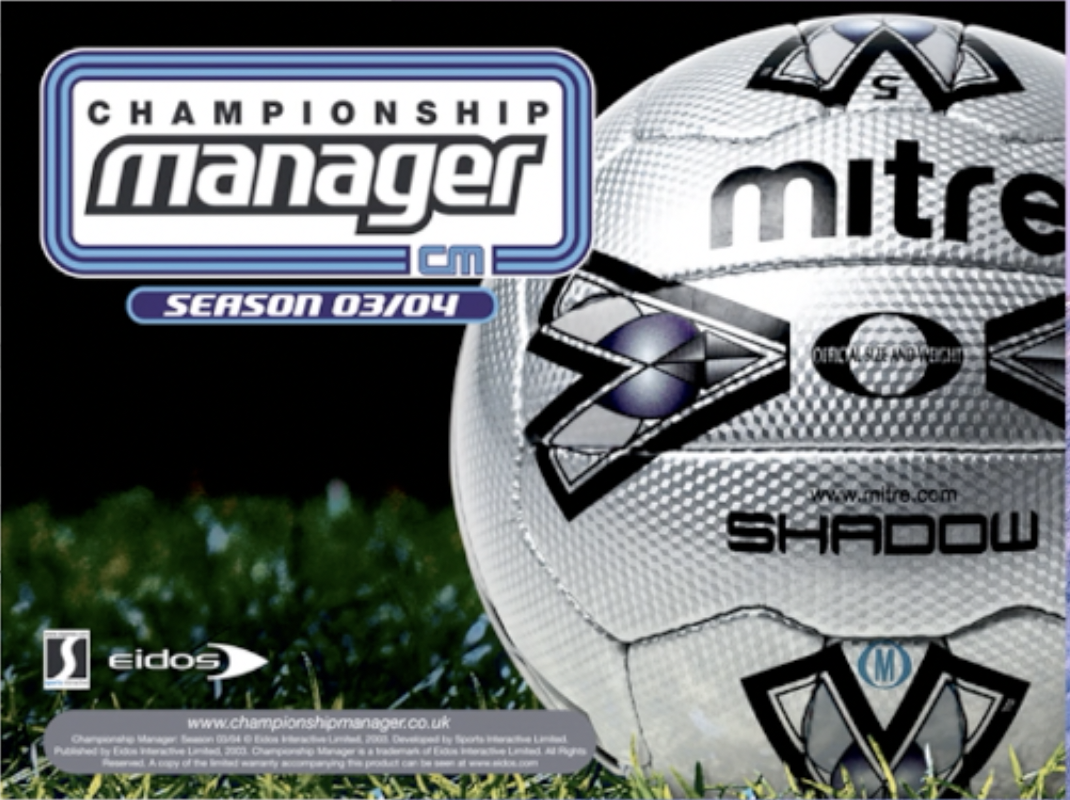 How to Install Championship Manager 03/04 (CM03/04) on MacOS/OSX