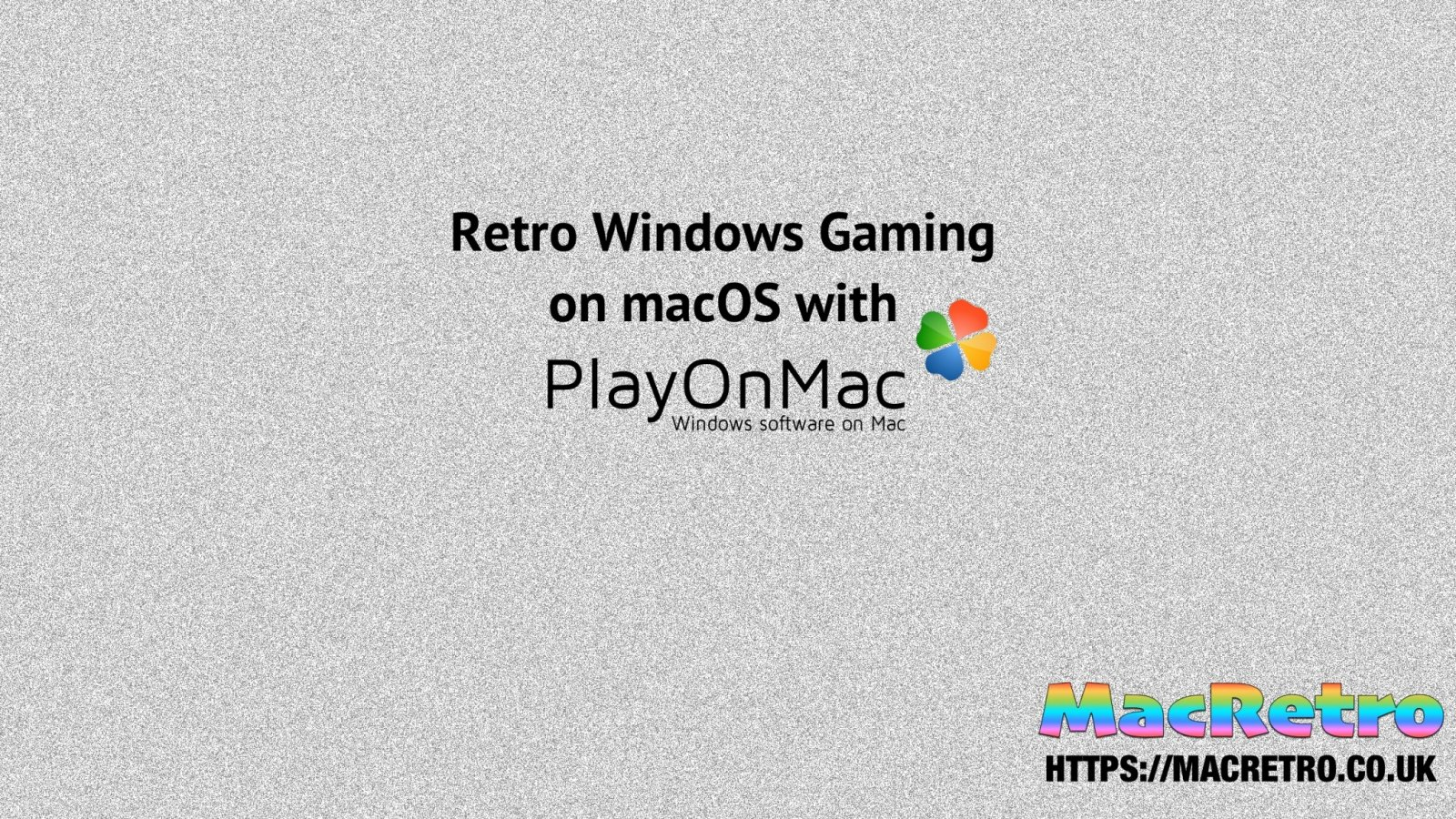 Setting up PlayOnMac